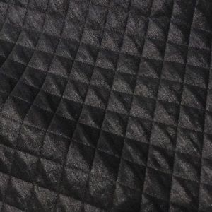 Express Dresses - Express quilted skater dress black sparkle S sheen